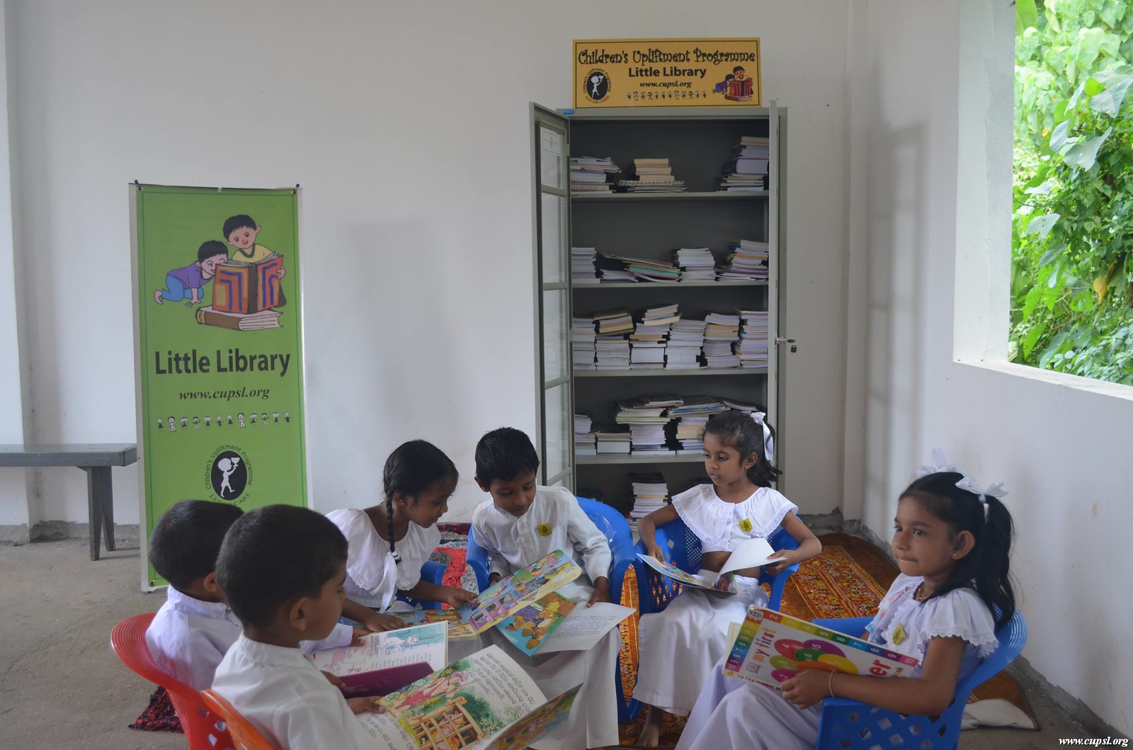 Little Library for Polgasowita Children